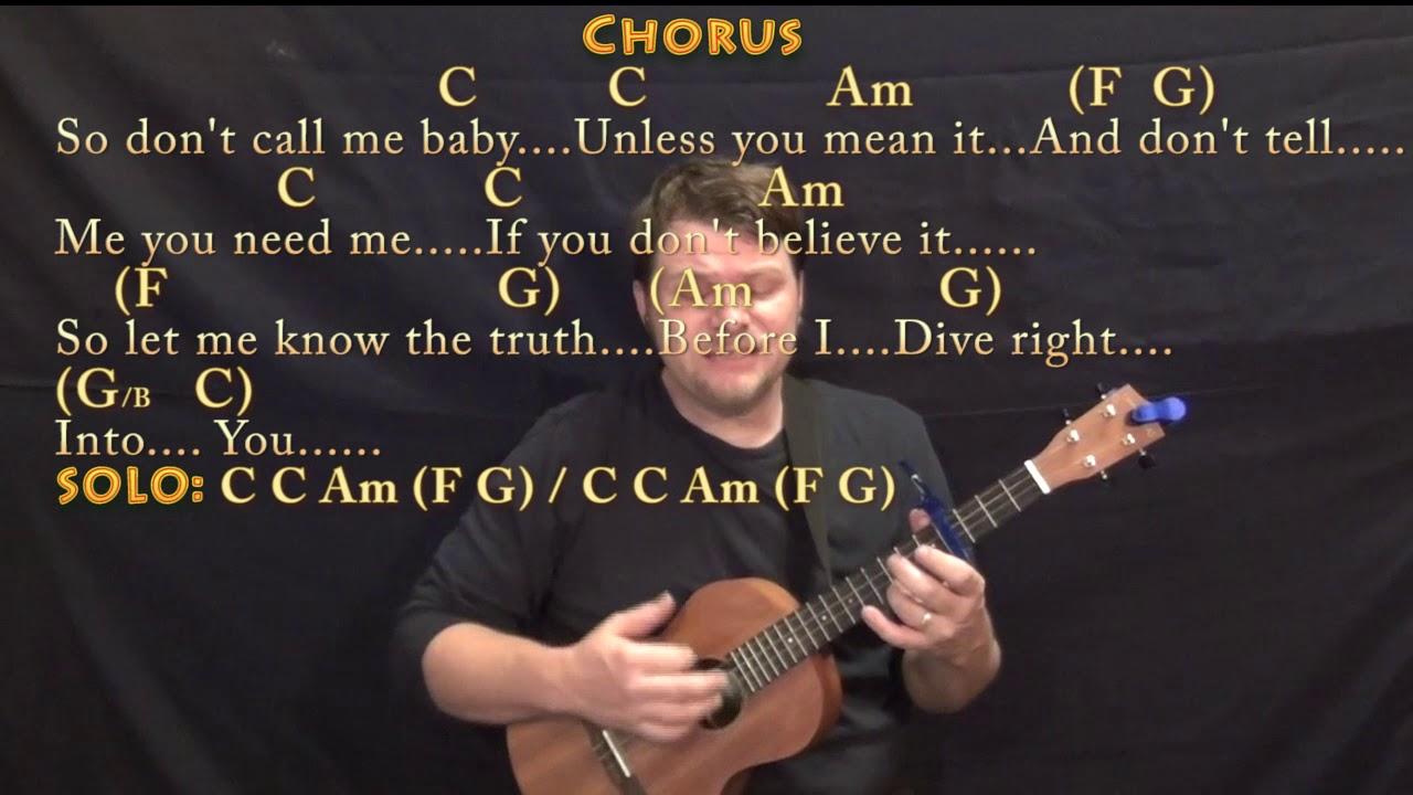 Dive ed sheeran bariuke cover lesson with chords lyrics capo 4th youtube - Ed sheeran dive chords ...