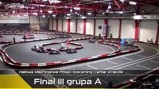 Halowe Mistrzostwa Polski w kartingu - FINAŁ - Go Karting Center - 17.01.2016
