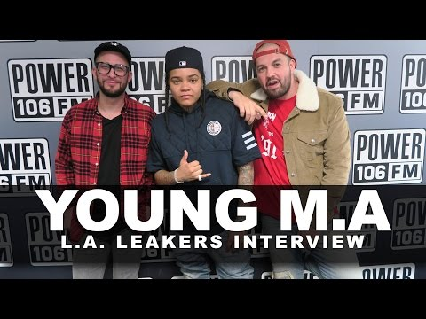 LA Leakers Young M.A Interview: Talks...
