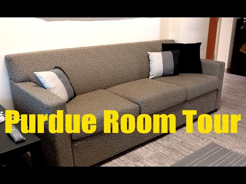 Purdue University Residences Room Tour | A sample Group Suite style room 2016