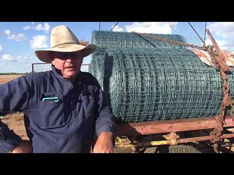 Keith Gordon of the Katherine Creek - Cluster Fencing