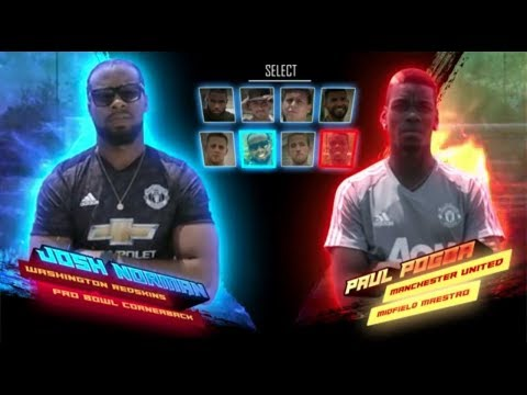 Josh Norman vs Paul Pogba - American Football vs Football Challenge!