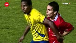 How to injure yourself- Football Ecuador vs Chile