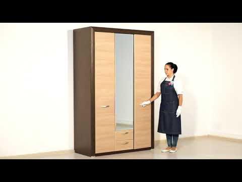 ВидеоОбзор EuroMebel: Шкаф для одежды коллекции Денвер