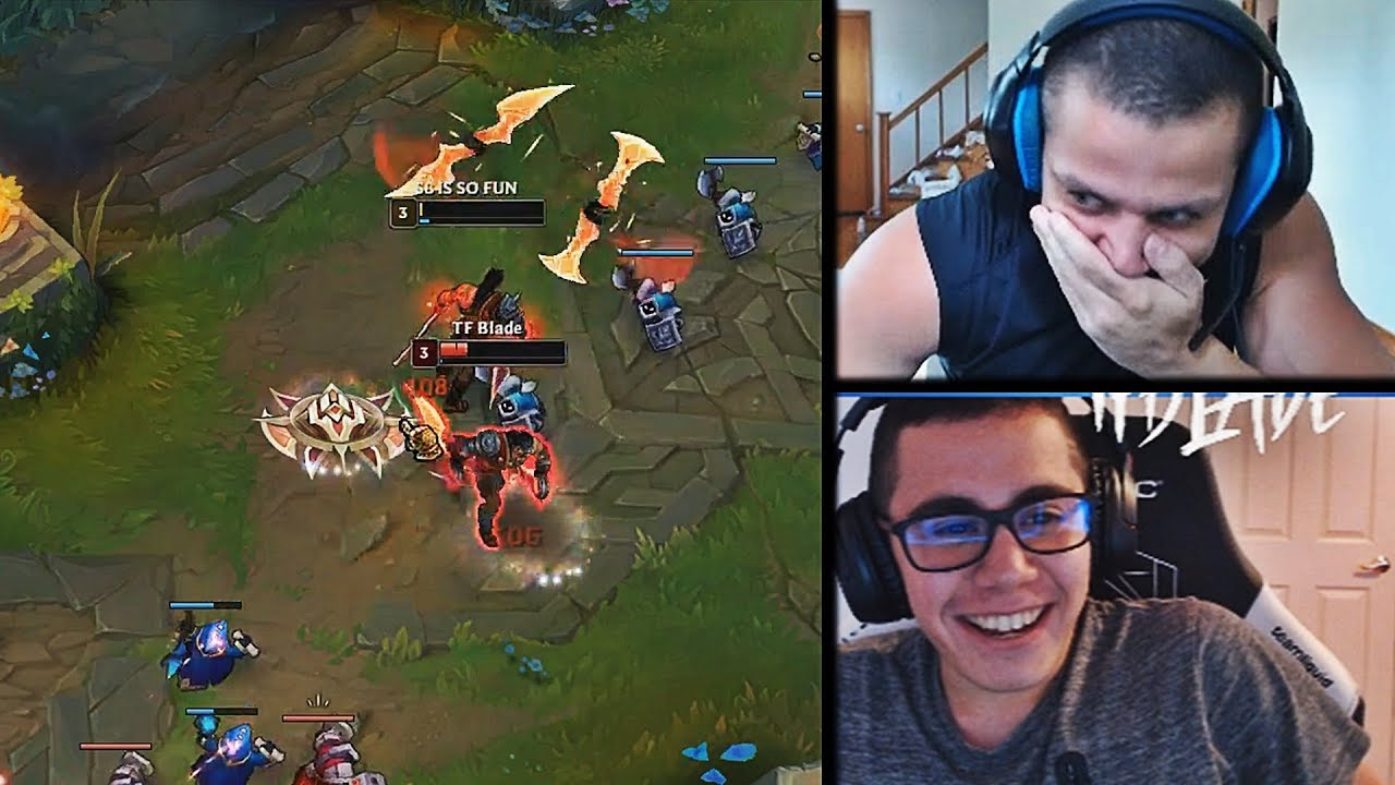 TYLER1 LOSES TFBLADE 1V1 WITH DRAVEN | VOYBOY ON HOW HE MET TYLER1 |  FROGGEN | LOL MOMENTS