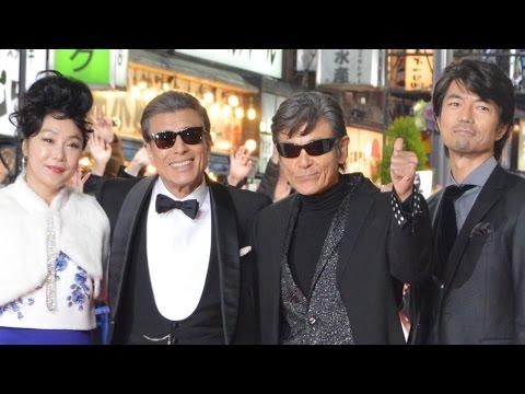 あぶない刑事、タカ&ユージが歌舞伎町に見参 映画『さらば あぶない刑事』レッドカーペットイベント