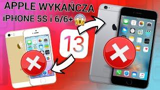 ❌ KONIEC iPhone'a 5S I 6/6 Plus  Apple ZACHĘCA do wymiany?