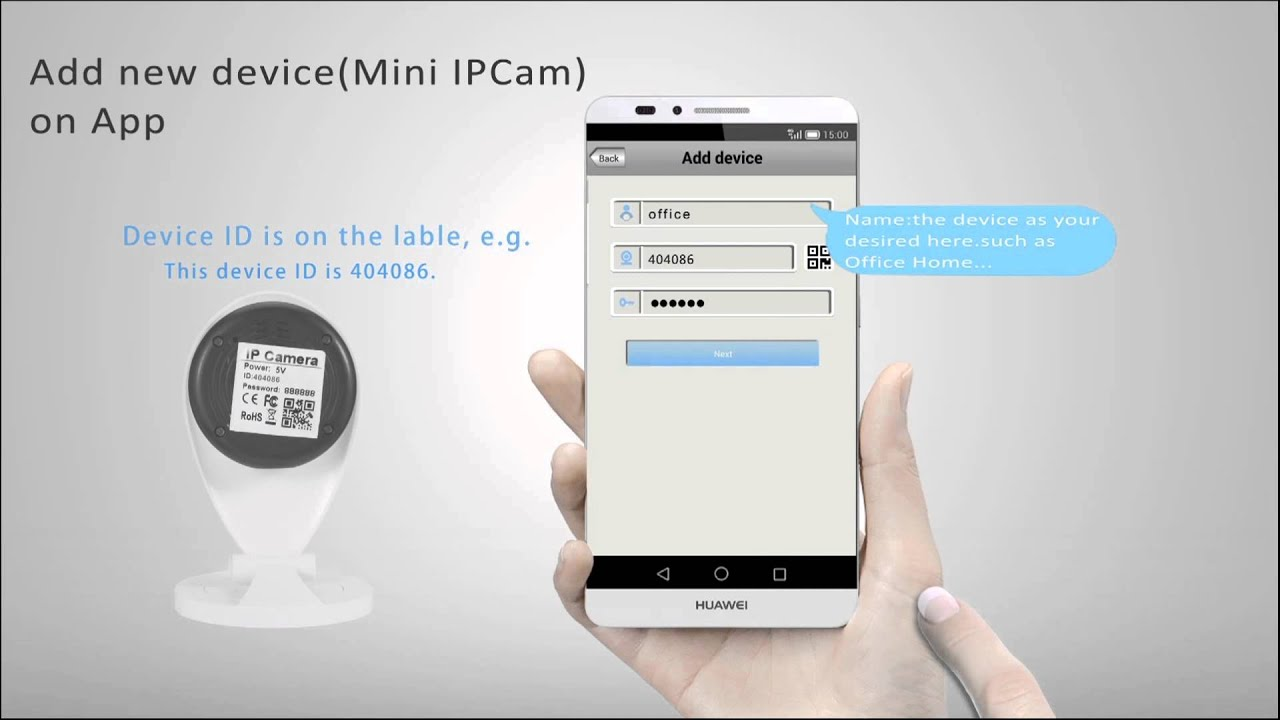 Sricam mini ip camera SP009 Video Guide on APP