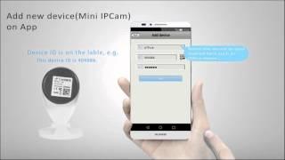 Sricam mini ip camera SP009 Video Guide on APP