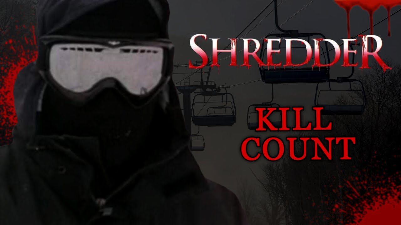 Shredder (2001) - Kill Count S06 - Death Central
