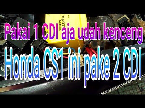 Modifikasi tanpa batas, Honda CS1 pasang 2 CDI (CS1 +Mio)