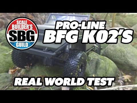 SBG Pro-Line BF Goodrich K02 Real World Test
