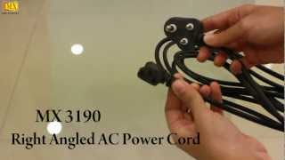 How to DIY AC Computer Power Cord Cable 5 Amperes
