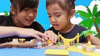 ここたま南の島でおおはしゃぎ Kan & Aki family thumbnail