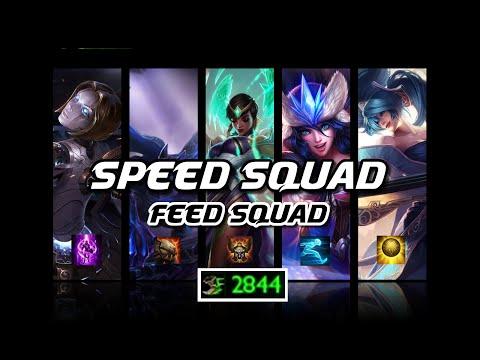 "League of Legends   Team Composition ""Speed Patrol"""