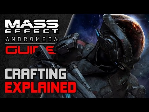 Mass Effect Andromeda BEGINNER's Guide ► RESEARCH and DEVELOPMENT (Crafting Explained)