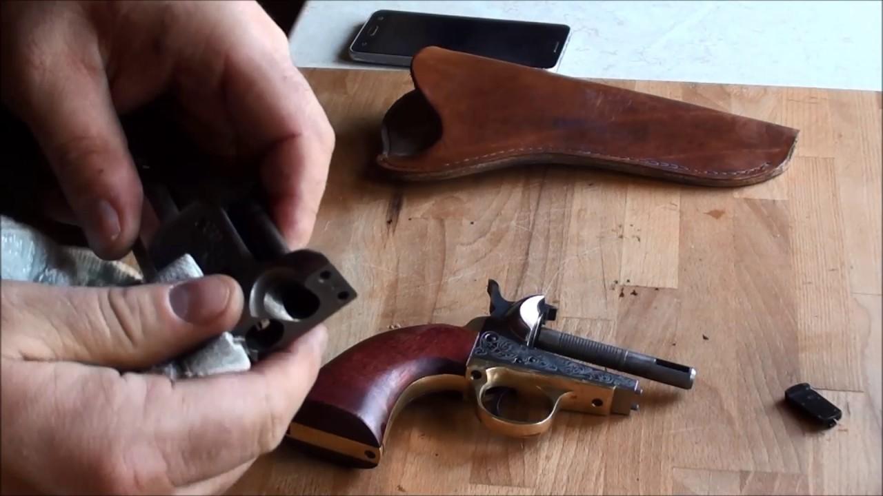 Czyszczenie Colta 1851 Navy Yank Sheriff 44 F LLI PIETTA