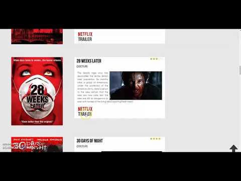 Horror Movie Database, Horror Movie List