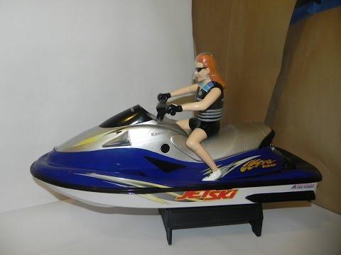 For Sale: Brushless Radio Controlled RC Kawasaki Jet Ski ABC Hobby Brushless 3s