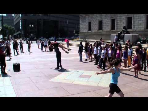 """""""The Dream at 50"""" Flashmob at Boston"""