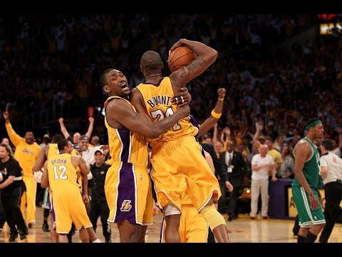 2010 Finals Look Back : Los Angeles Lakers vs Boston Celtics Game 7