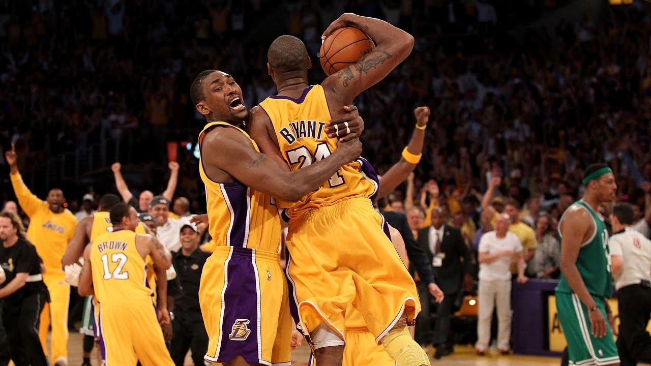 2010 Finals Look Back : Los Angeles Lakers vs Boston Celtics Game 7 - YouTube
