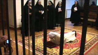 Monjas Agustinas, toma de hábito Sor Raquel
