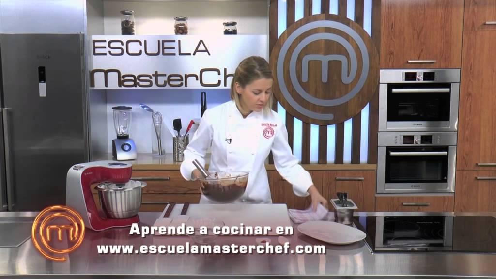 Escuela De Cocina Masterchef | Escuela Masterchef Teresa Gutierrez Coulant De Chocolate Youtube