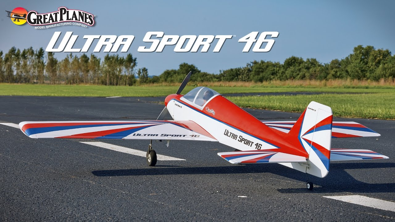 Great Planes Ultra Sport 46: Raw Performance