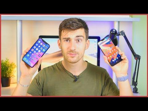 iPhone Xs vs OnePlus 6: 1000€ di differenza!