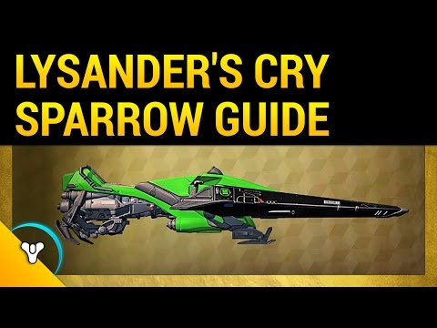 Destiny Rise of Iron: How to Get Lysander's Cry