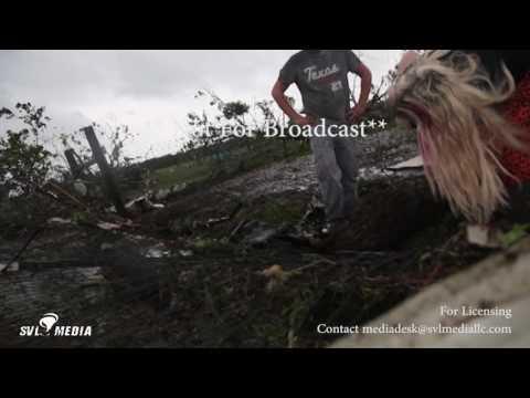 Canton, Texas - Baby Horse Pinned In Tornado Debris - April 29th, 2017