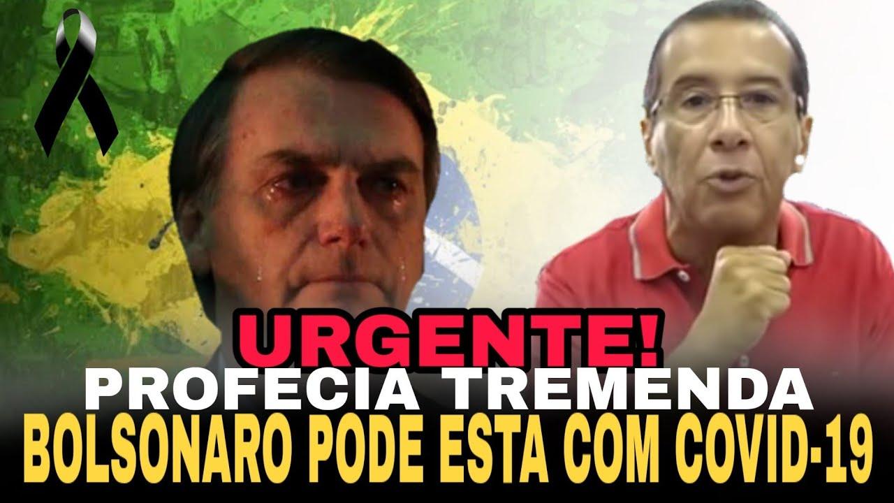 URGENTE! BOLSONARO PODE ESTÁ COM COVID-19, UMA PROFECIA TREMENDA REVELA O LUTO DO BRASIL