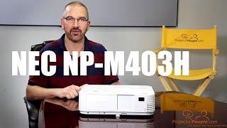 проектор NEC M402W обзор
