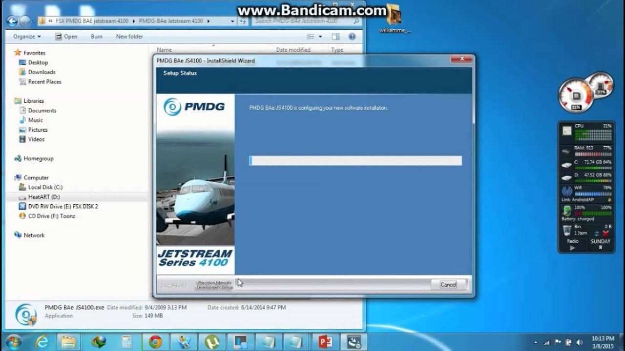 fsx pmdg bae jet stream download