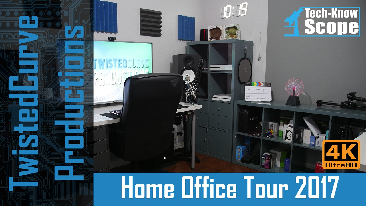 home office technology. the ultimate home office tour 2017 my youtube studio technology w