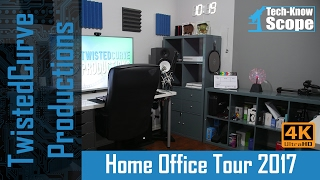 The Ultimate Home Office Tour 2017 | My YouTube Studio