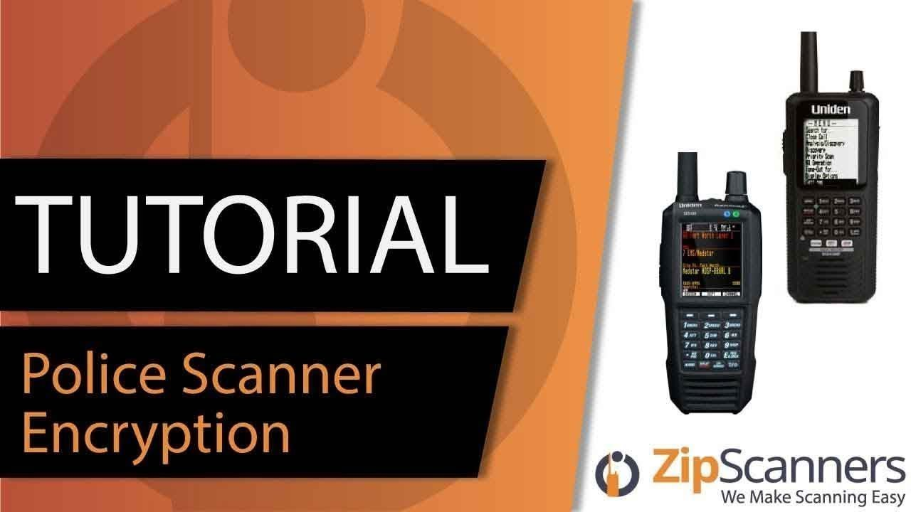 Police Scanner Encryption | Tutorial