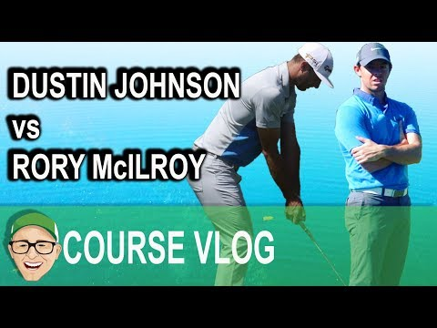 DUSTIN JOHNSON vs RORY McILROY
