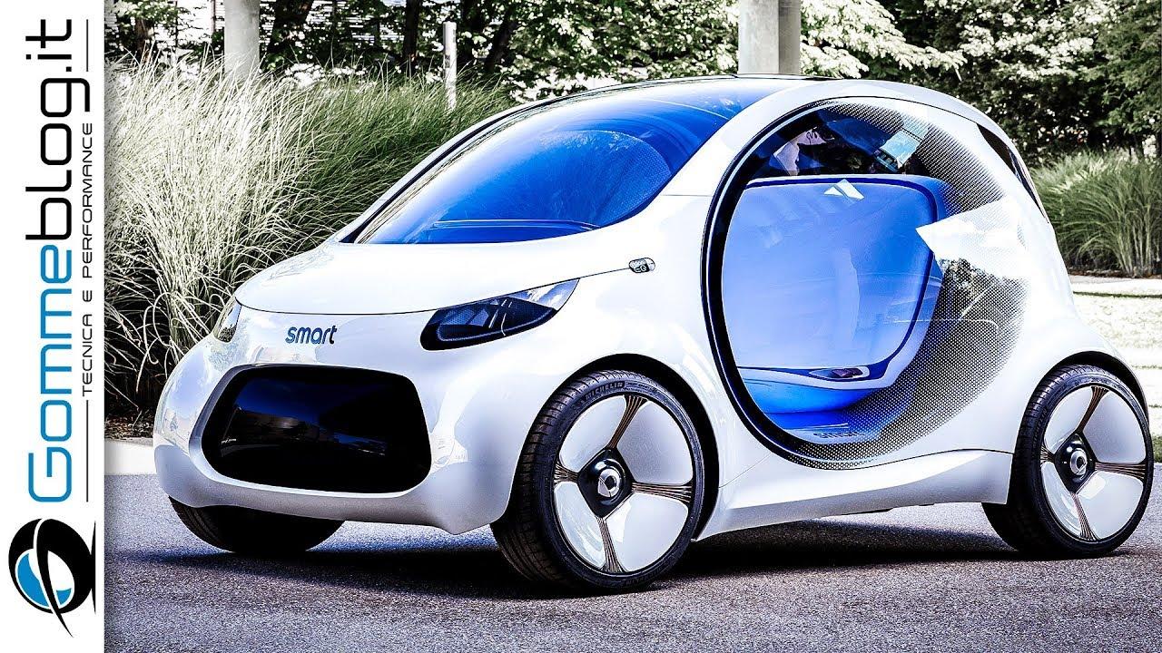 Smart Vision EQ ForTwo  5 Autonomous Concept Car