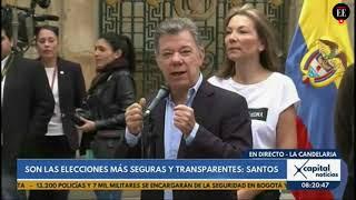 Juan Manuel Santos invita a los colombianos a votar | El Espectador