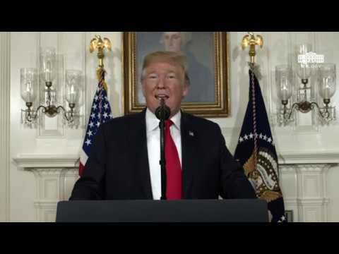 President Trump Delivers Remarks on the Humanitarian Crisis on Our Southern Border and the S