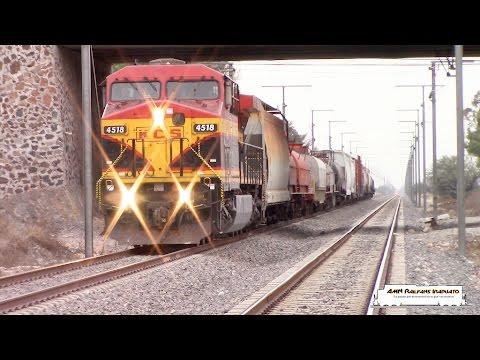 Trenes Kansas City Southern de México (Irapuato-Queretaro)