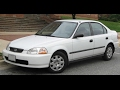 1998 Honda Civic LX 4-Speed Automatic Transmission Review