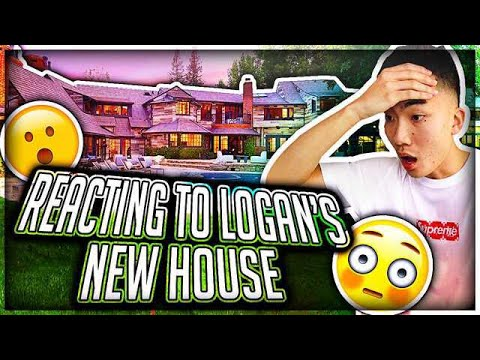 REACTING To Logan Paul's NEW HOUSE
