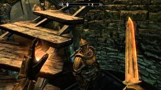 The Elder Scrolls 5 Skyrim путь последних Двемеров часть 53 Костяной коготь и часть амулета Голдура