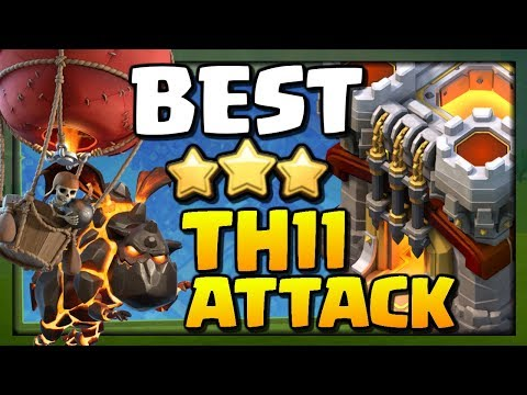 BEST TH11 ATTACK STRATEGY for 2018 in Clash of Clans!