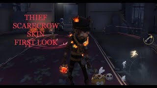 Identity V - Thief Scarecrow Skin Gameplay At Red Church
