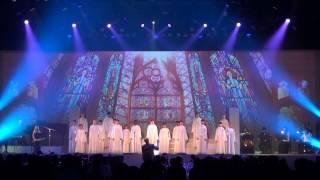 『Libera Christmas in Summer at Universal Studios Japan』より「Song of Life 生命(いのち)の奇跡」の模様
