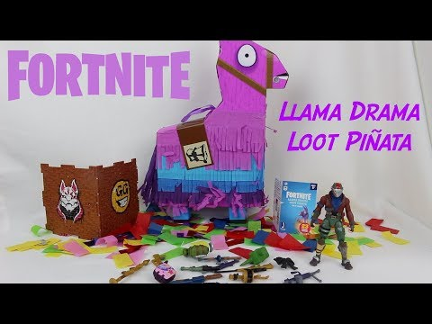 Fortnite Llama Drama Loot Piñata Unboxing/Review